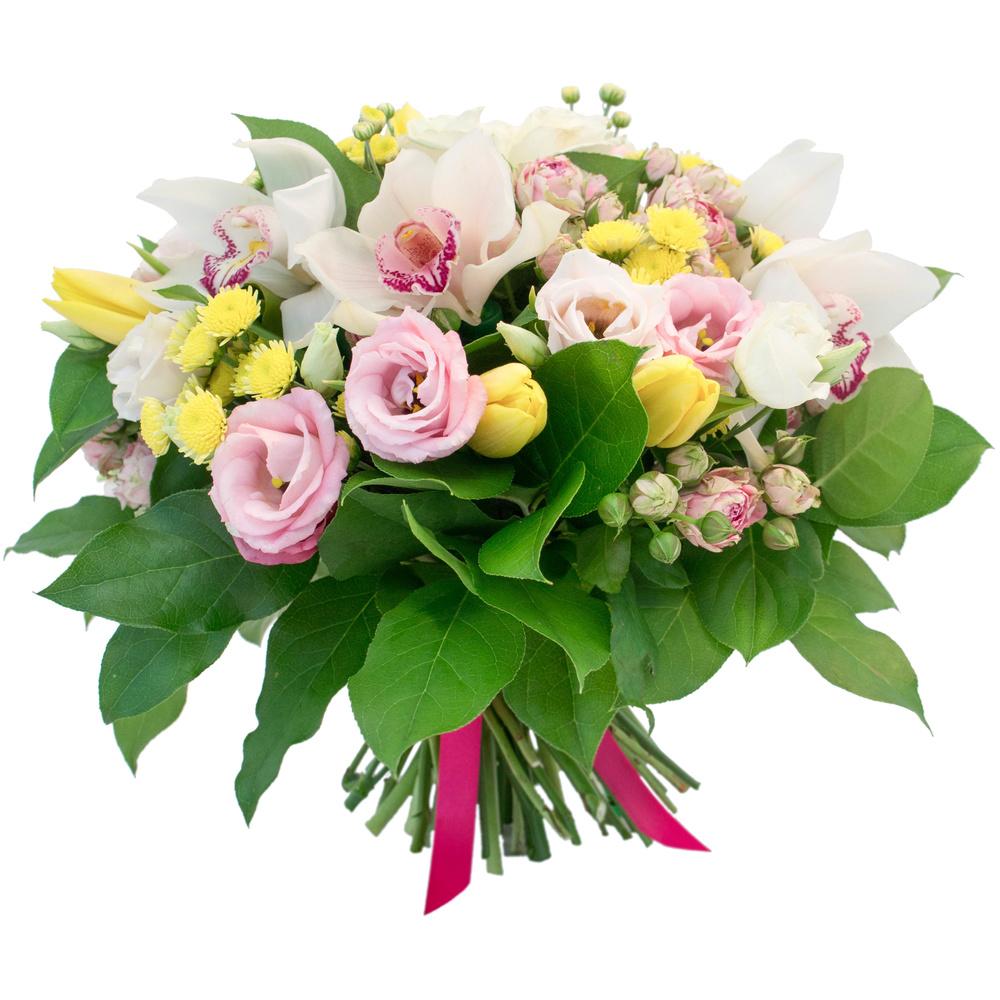 тюльпаны розы орхидеи фото большие плотные, все