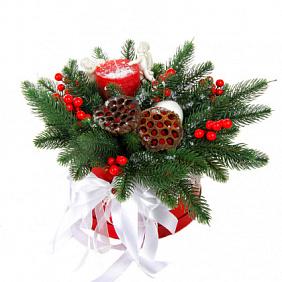 Купить новогодние украшения для стола