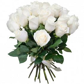 Купить букет белых роз