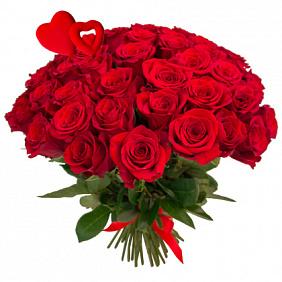 Купить 51 розу в Москве недорого с доставкой