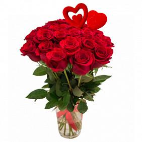Купить букет из красных роз