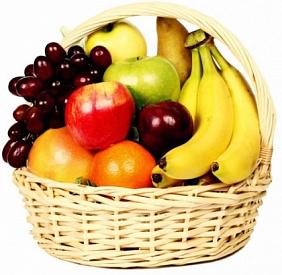 Купить корзину с фруктами