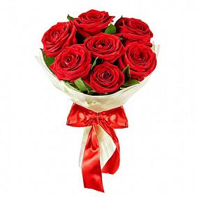 купить букет из 7 роз с доставкой