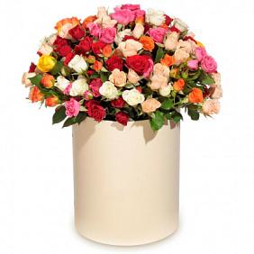 Доставка кустовых роз в Москве