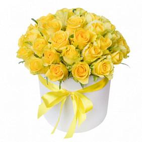 Купить букет из желтых роз